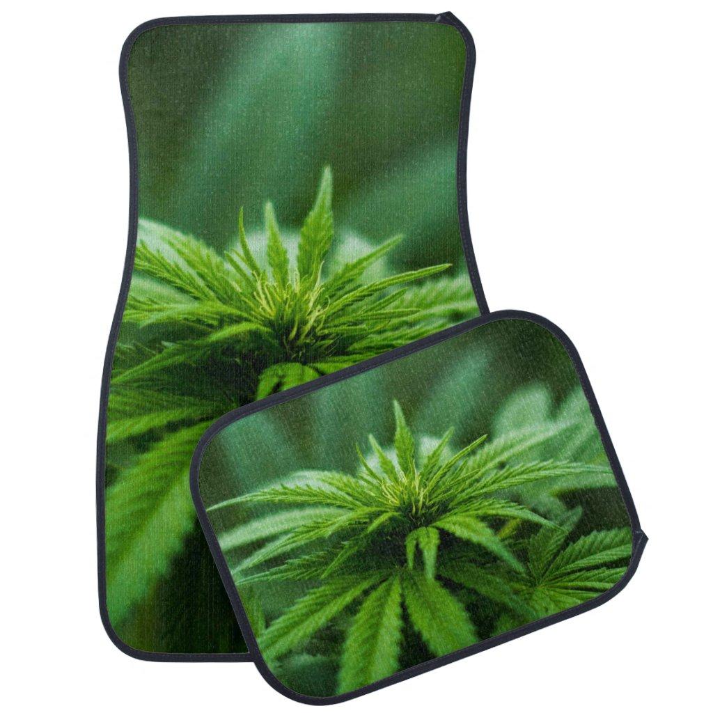 Marijuana Car Floor Mat