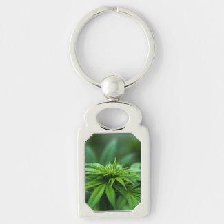 Marijuana Keychain
