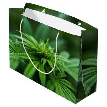 Marijuana Large Gift Bag