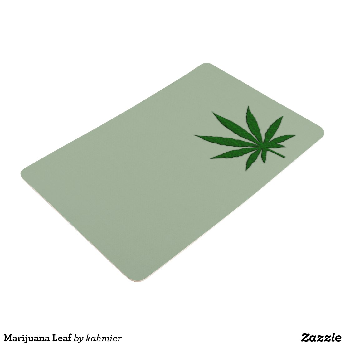 Marijuana Leaf Floor Mat
