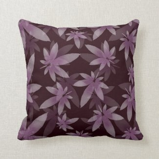 Marijuana Leaf Pattern Throw Pillow