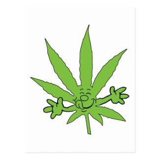 Marijuana Munchies Postcard