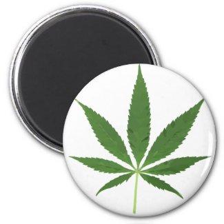 Pot Leaf Refrigerator Magnet