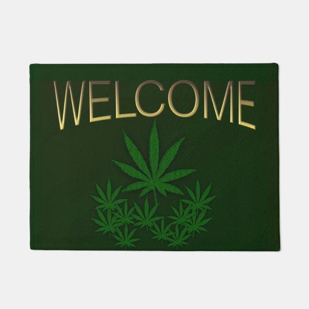 Marijuana Welcome Mat
