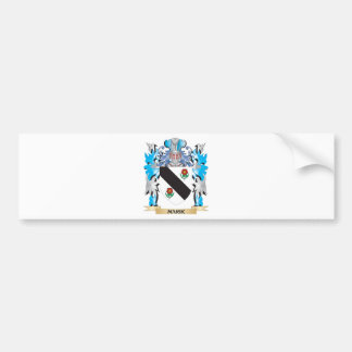 Marik Coat of Arms - Family Crest Car Bumper Sticker