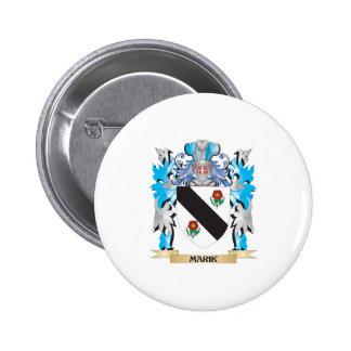 Marik Coat of Arms - Family Crest Pinback Button
