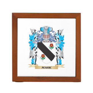 Marik Coat of Arms - Family Crest Pencil/Pen Holder