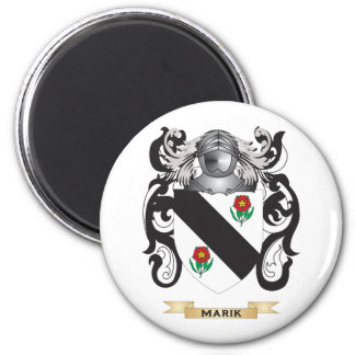 Marik Coat of Arms (Family Crest) 2 Inch Round Magnet