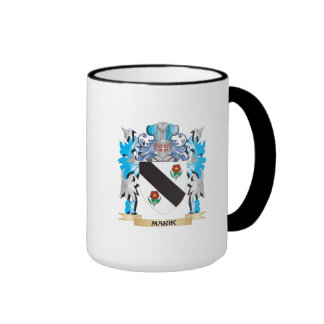 Marik Coat of Arms - Family Crest Ringer Coffee Mug