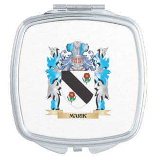 Marik Coat of Arms - Family Crest Mirrors For Makeup