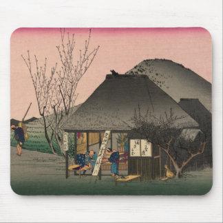 Mariko 53 stations of the Tokaido Road Hiroshige Mousepad