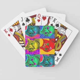 Marilyn Cats Playing Cards