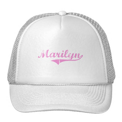 Marilyn Classic Style Name Trucker Hat