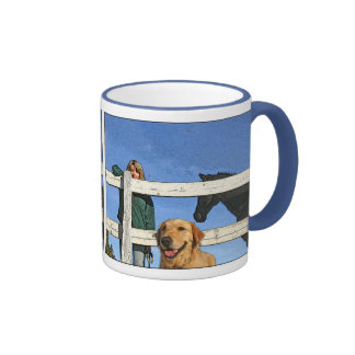 """Marilyn"" cups Ringer Coffee Mug"