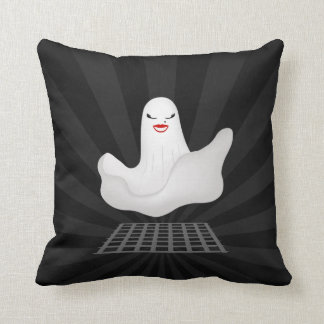Marilyn Ghost Funny Cartoon pillow