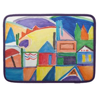 "Marilyn Holmes Fine Art ""Main Street"" Sleeves For MacBooks"