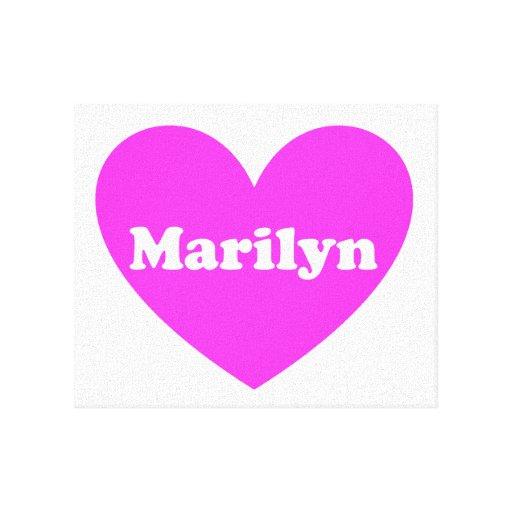 Marilyn Impresión En Tela