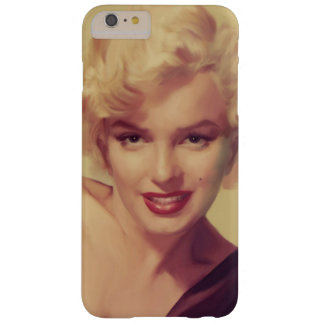 Marilyn in Black Barely There iPhone 6 Plus Case