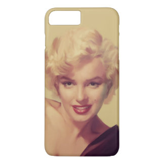 Marilyn in Black iPhone 8 Plus/7 Plus Case