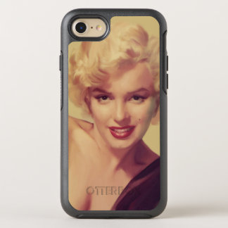 Marilyn in Black OtterBox Symmetry iPhone 7 Case