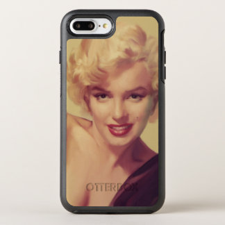 Marilyn in Black OtterBox Symmetry iPhone 7 Plus Case