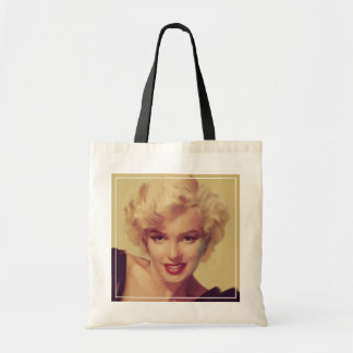 Marilyn in Black Tote Bag