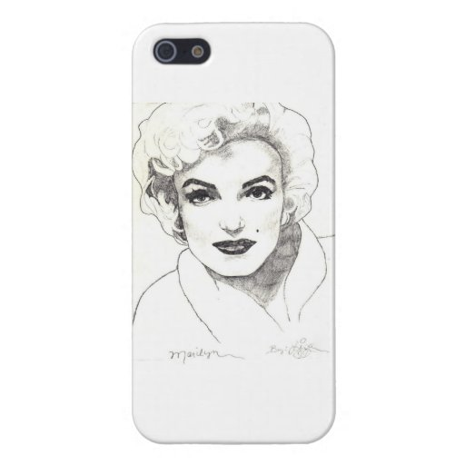 Marilyn IPhone Case (Glossy) Three Covers For iPhone 5
