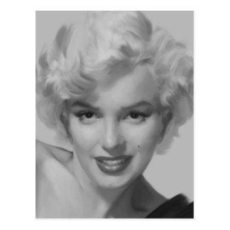 Marilyn la mirada tarjetas postales