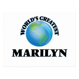 Marilyn más grande del mundo postales