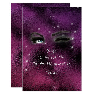 Marilyn Monroe Valentine Love Declaration Pink Card