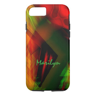 Marilyn New Colored Model iPhone case