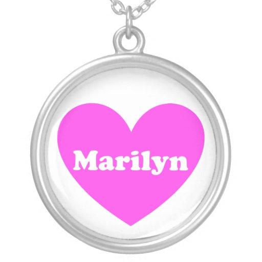 Marilyn Pendientes