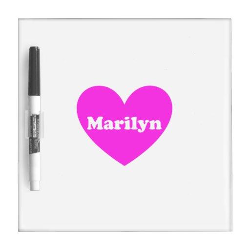 Marilyn Pizarras Blancas
