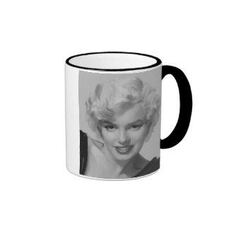 Marilyn the Look Ringer Coffee Mug