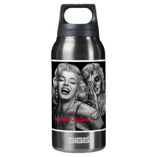 Marilyn's A Fashionista But The Fashion Killed Her Insulated Water Bottle