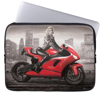 Marilyn's Motorcycle Computer Sleeves