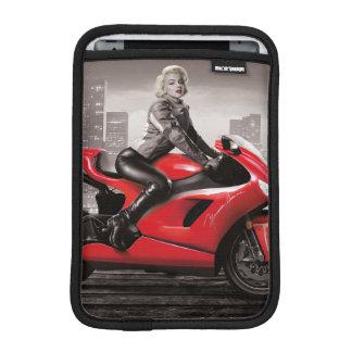 Marilyn's Motorcycle Sleeve For iPad Mini