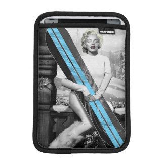 Marilyn's Snowboard iPad Mini Sleeve