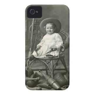 Marimacho de 1910 americanos iPhone 4 Case-Mate cobertura