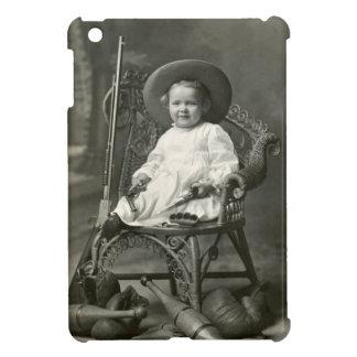 Marimacho de 1910 americanos iPad mini cárcasas
