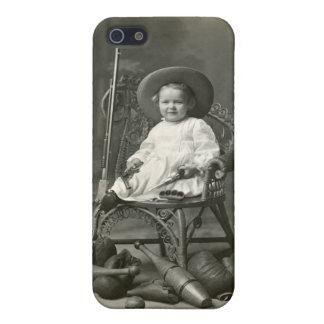 Marimacho de 1910 americanos iPhone 5 carcasa