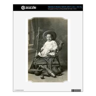 Marimacho de 1910 americanos NOOK calcomanía