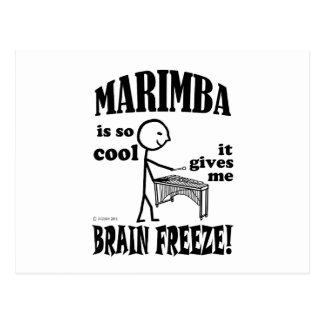 Marimba, Brain Freeze Postcard