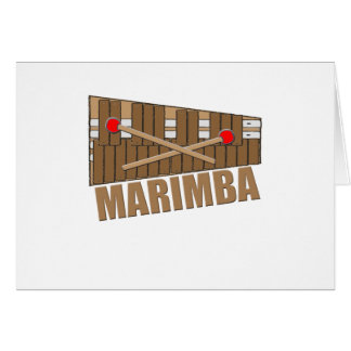 Marimba Card