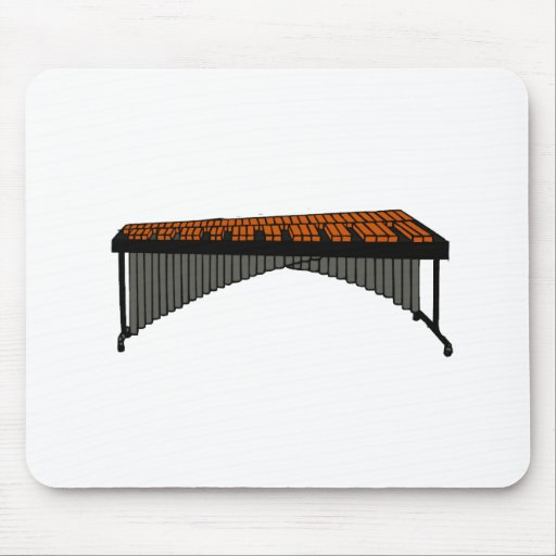 Marimba Design Graphic 1 Mouse Pad