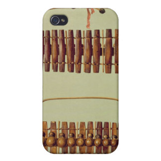 Marimba front and back views South African from iPhone 4 Cover