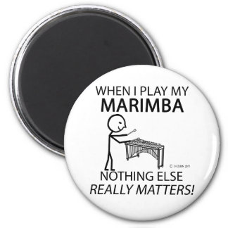 Marimba nada materias otras iman de nevera