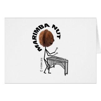 Marimba Nut Card