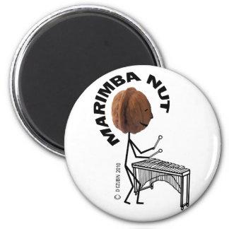 Marimba Nut Magnets