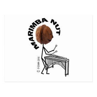 Marimba Nut Postcard